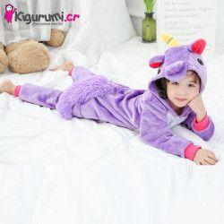 Pijama de Unicornio Morado - Costa Rica