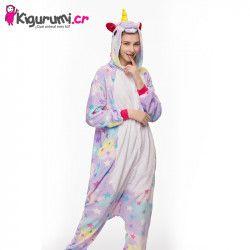 Pijama entera de unicornio estrellas